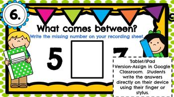 What Number Comes Between-A Digital Math Center