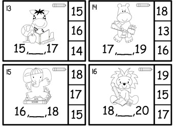 What Number Comes Between Two Given Numbers Math Center Jungle School Theme