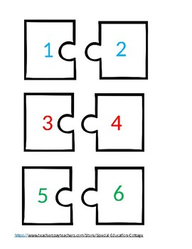 What Number Comes Next? Math- Autism-File Folder-Special Education