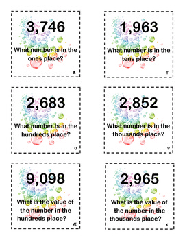 What Number Place Value Game