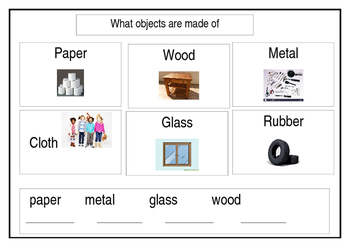 What Objects are made of
