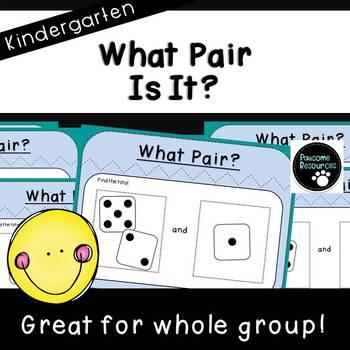 What Pair is It?-Finding Pairs of 1-10 (Kindergarten K.OA.3)
