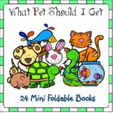 What Pet Should I Get? 24 Mini Foldable Books