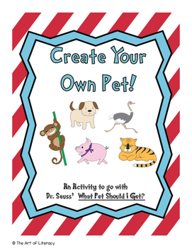 What Pet Should I Get? Create A Pet Activity!