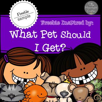 What Pet Should I Choose?  FREEBIE SAMPLE