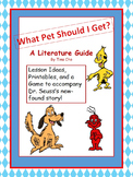 What Pet Should I Get? Literature Guide