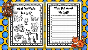 What Pet Would You Get? Graphing Activity