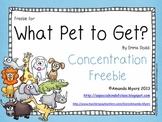 What Pet to Get? Freebie