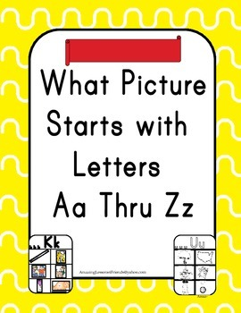 What Picture Starts With Letters Aa Thru Zz