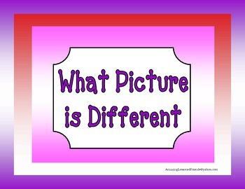 What Picture is Different