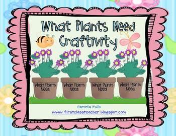 What Plants Need Craftivity
