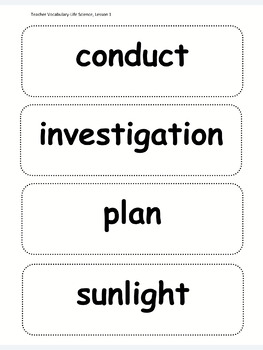 What Plants Need  (Second Grade NGSS Lesson)