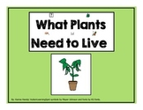 What Plants Need To Live