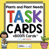What Plants Need to Grow Task Cards | Reading Passage | Digital Boom Cards™