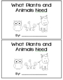 What Plants and Animals Need