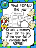 "What ""Popped"" Year End Memory Folder"