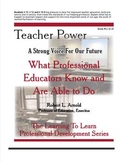 What Professional Educators Know and Are Able to Do