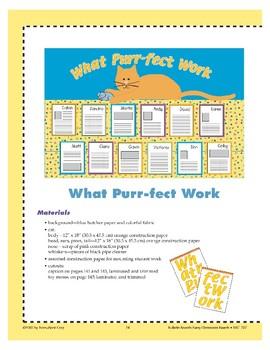 What Purr-fect Work (Bulletin Board)