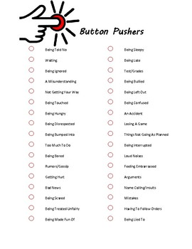 What Pushes Your Buttons Activity Bundle