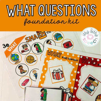 What Question - Foundations Kit