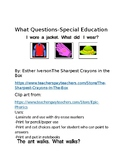 What Questions-Special Education