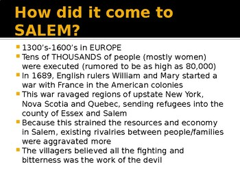 What REALLY happened during the Salem Witch Trials