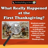 What Really Happened at the First Thanksgiving?