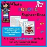 What Robotic Engineers Do Lesson Plan