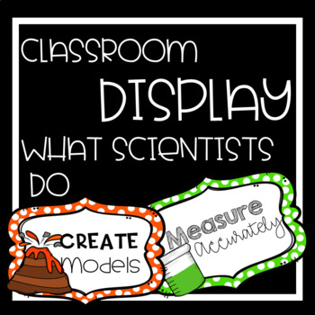 What Scientists Do Bulletin Board Display, Scientific Inquiry and Method