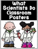 What Scientists Do? Science Bulletin Board Center Posters