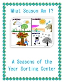 What Season Am I? (Seasons of the Year Sorting Center)