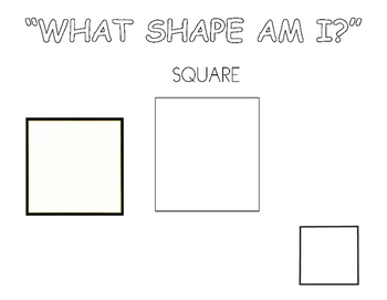 What Shape Am I?