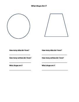 What Shape Am I? (Quiz)