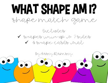 What Shape Am I (Shape Match Game)