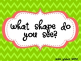What Shape Do You See? powerpoint