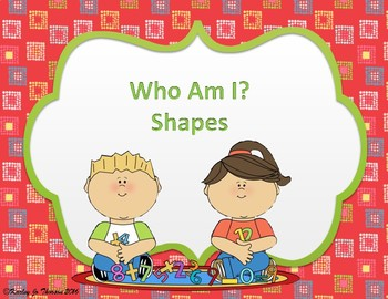 What Shape am I? Task Cards