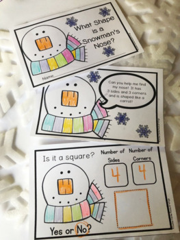 What Shape is a Snowman's Nose? A Math Reader (2D shapes)