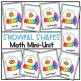 What Shape is a Snowman's Nose? A Math Reader (2D shapes)