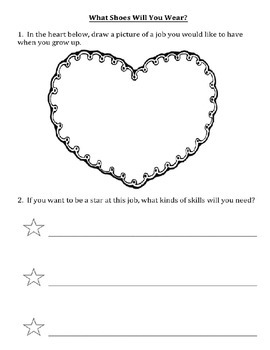 What Shoes Will You Wear Worksheet