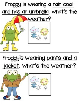 What Should Froggy Wear? Adapted Mini Book