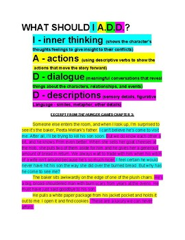 What Should I A.D.D.? Expanding Narrative Writing for Middle Schoolers