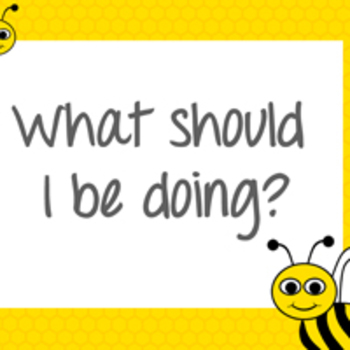 What Should I BEE doing? Poster Set