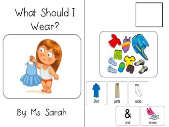 What Should I Wear? Adapted Book