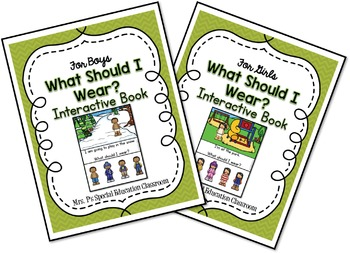 What Should I Wear? Interactive Books