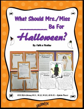 What Should Mrs. or Miss __________ Be For Halloween