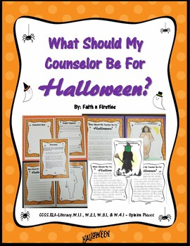 What Should My Counselor Be For Halloween