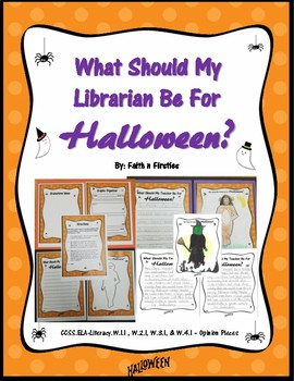 What Should My Librarian Be For Halloween