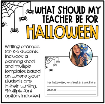What Should My Teacher Be For Halloween?