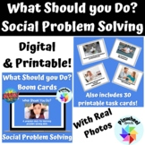 What Should You Do? Boom Cards™ Speech Language Therapy So