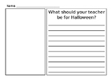 What Should Your Teacher Be for Halloween